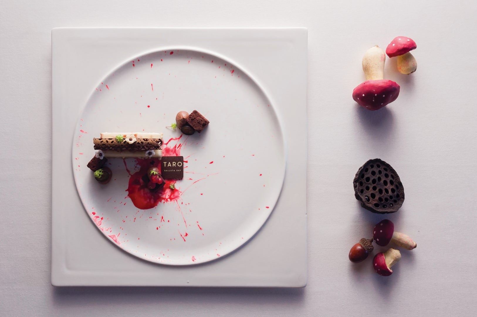 Chocolates and red-currants