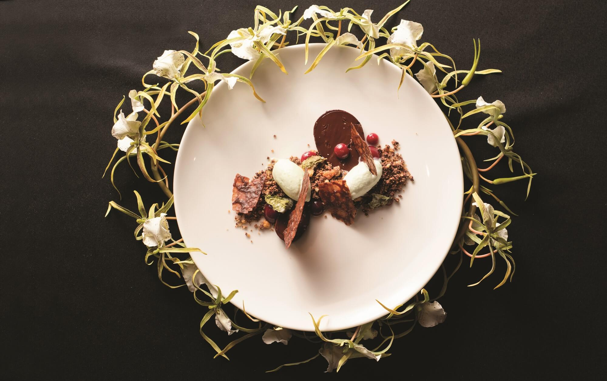Chocolate and mint in all different forms, temperatures and flavours