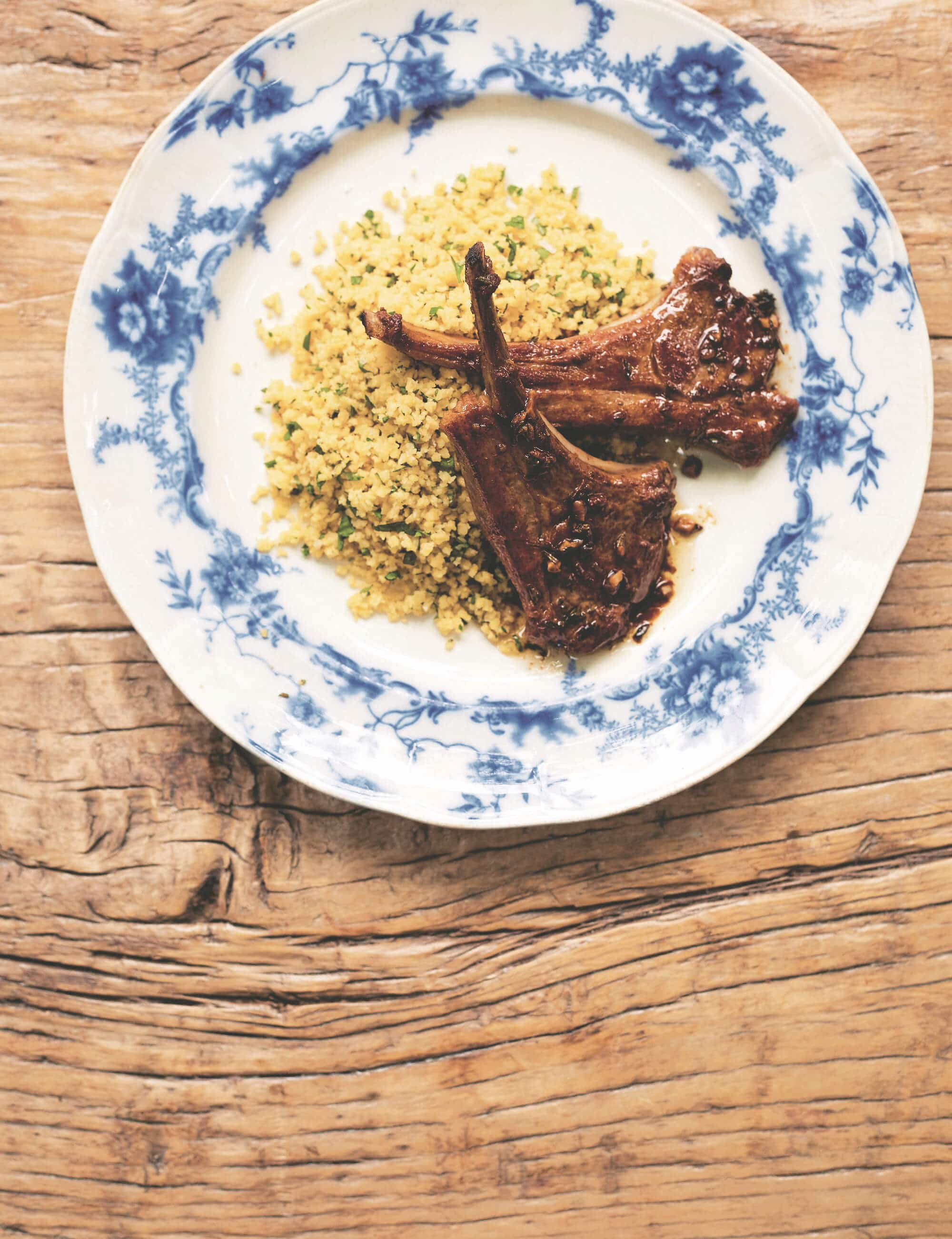 Anchovy-infused Lamb Cutlets
