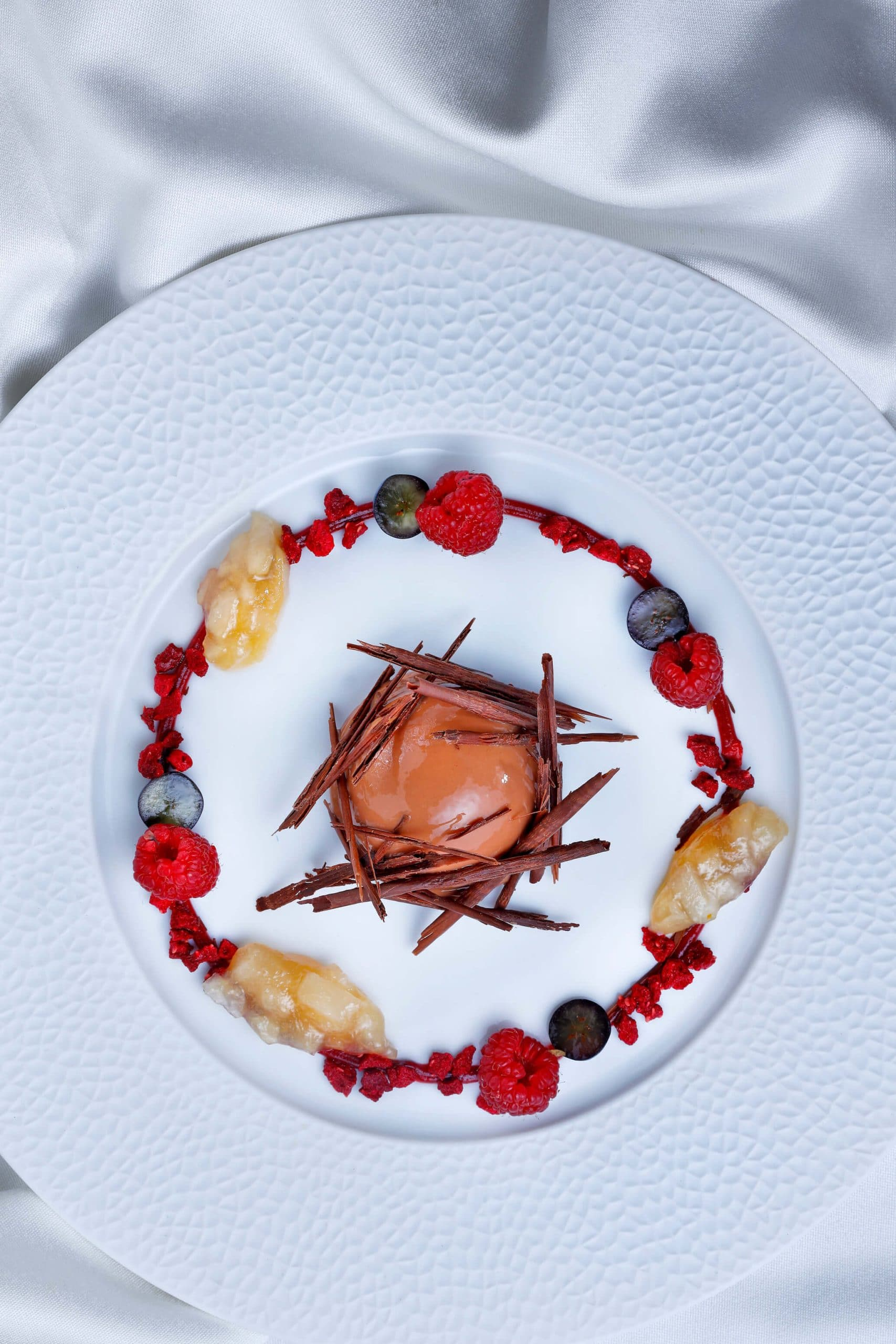 Pear and Gianduja Mousse
